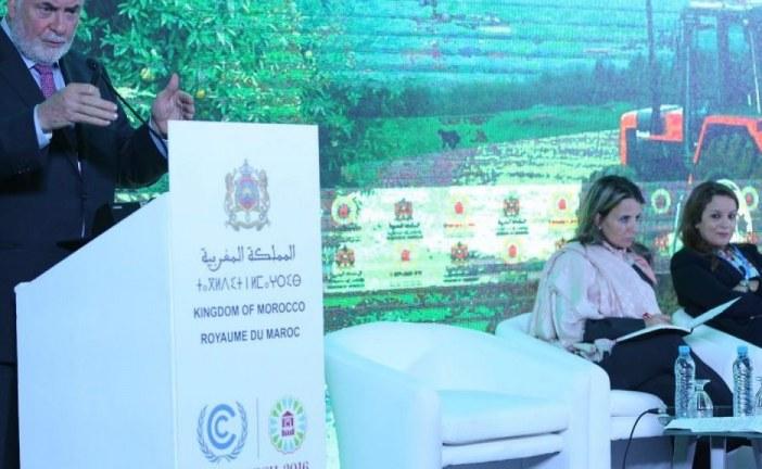 الموارد المائية في صلب أشغال مؤتمر COP22