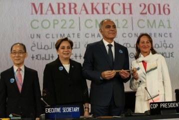 المغرب يتسلم رسميا صباح اليوم الاثنين، رئاسة الدورة الثانية و العشرون لمؤتمر الأطراف في الاتفاقية الإطار للأمم المتحدة بشأن تغير المناخ (كوب22).