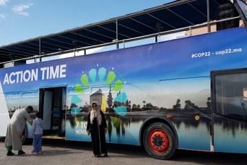 حافلات تحسيسية بمؤتمر المناخ COP22