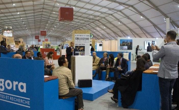 كوب 22 بالمنطقة الخضراءAGORA ساحة للنقاش وتبادل الآراء حول القضايا المناخية والبيئبة