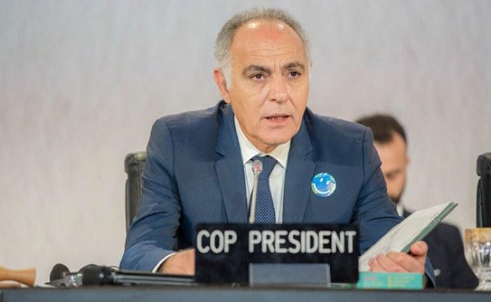 تصريح السيد صلاح الدين مزوار، رئيس مؤتمرCOP22 عقب نتائج الانتخابات الرئاسية الأمريكية