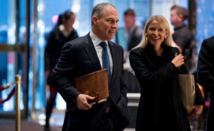 """ترامب يختار """"سكوت برويت"""" المناهض لمكافحة الاحتباس الحراري مسؤولا عن البيئة"""