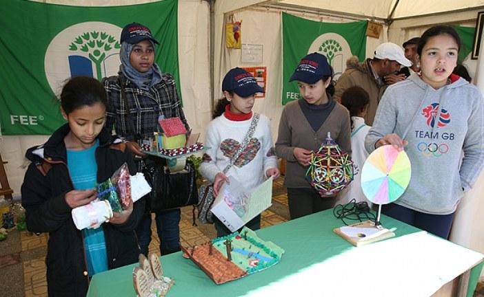 ابتكارات وتصورات صديقة للبيئة لتلامذة جهة فاس-مكناس  بمناسبة الاحتفال بيوم الأرض.