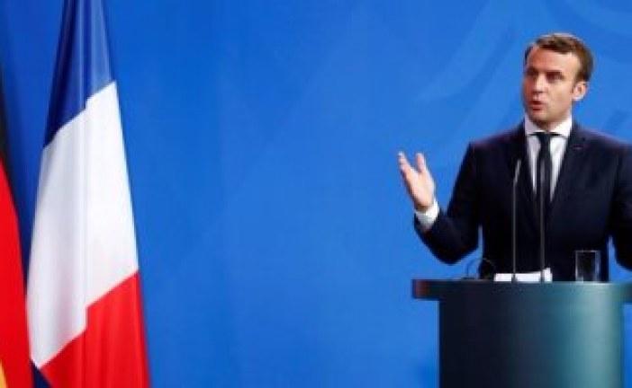 ماكرون يدعو علماء المناخ ورجال الأعمال الأمريكيين للعمل فى فرنسا