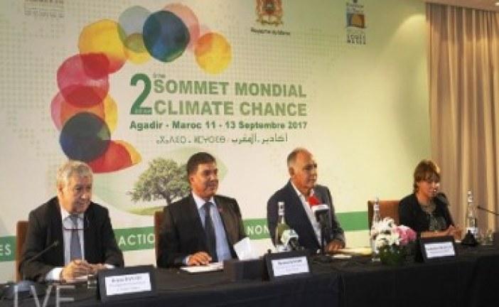 انطلاق أشغال الدورة الثانية لقمة المناخ للفاعلين غير الحكوميين بأكادير