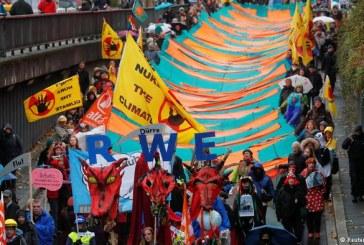 بون – تظاهرات ضد التغير المناخي