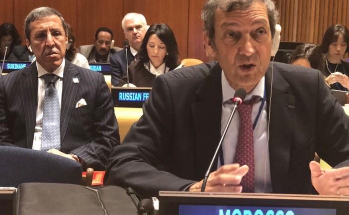 بيان صحفي : المغرب يشارك بالدورة الثالثة عشرة لمنتدى الأمم المتحدة حول الغابات بنيويورك ممثلا بالدكتور عبد العظيم الحافي المندوب السامي للمياه والغابات ومحاربة التصحر