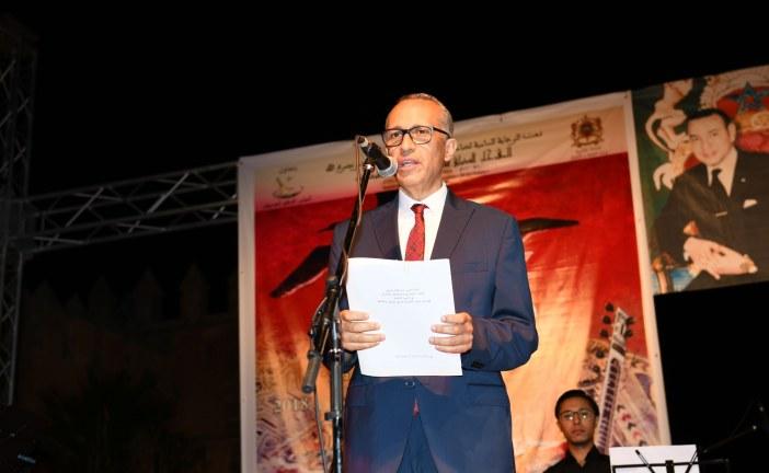 افتتاح ناجح للدورة الثامنة لمهرجان صيف الاوداية