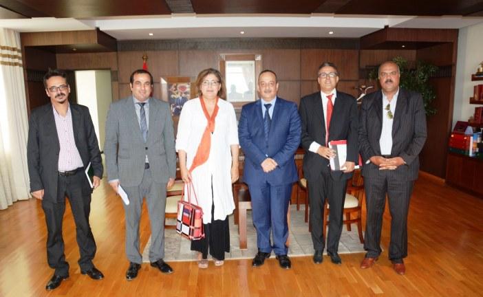 لقاء عمل بين الائتلاف المغربي للملكية الفكرية والسيد وزير الثقافة والاتصال