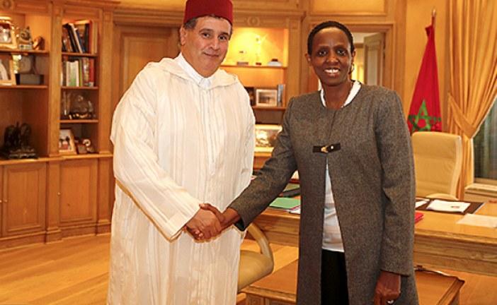 """الفلاحة المستدامة في إفريقيا ومبادرة """"تريبل أ"""" محور لقاء بين السيد أخنوش و رئيسة """"التحالف من أجل الثورة الخضراء في افريقيا"""""""