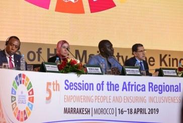 مراكش : افتتاح أشغال الدورة الخامسة للمنتدى الإفريقي للتنمية المستدامة