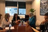 اجتماع نزهة الوفي  مع السيدة إنغر أندرسن المديرة التنفيذية لبرنامج الأمم المتحدة للبيئة لتدارس سبل تطوير التعاون في مجالات البيئة والتنمية المستدامة