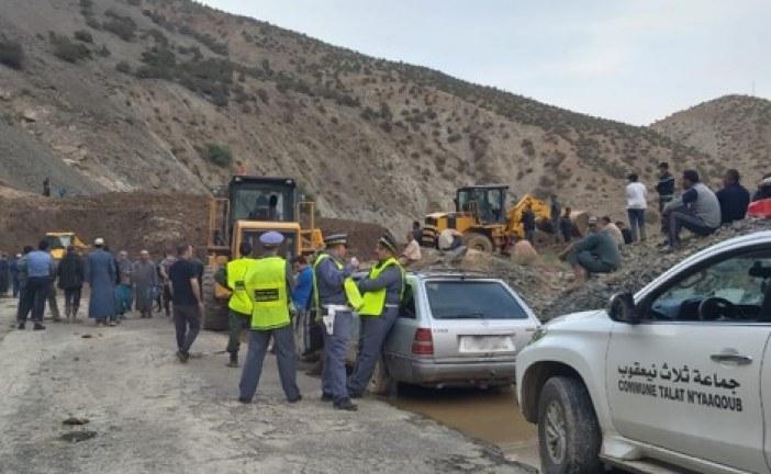 """فاجعة """"سيارة الحوز"""" .. عمليات الإنقاذ تنتشل 15 جثة من تحت الأوحال"""