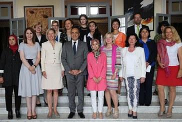 وفد نسائي ألماني يشيد بتعزيز مكانة المرأة المغربية