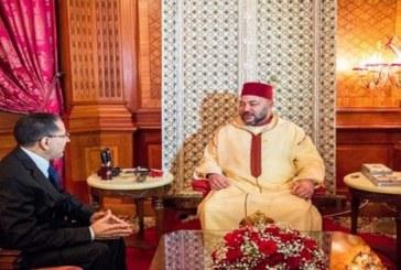 العثماني يقدم لائحة وزراء الحكومة  الجديدة للملك