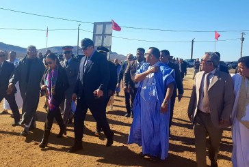 الوزيرة نزهة بوشارب في زيارة ميدانية لعدد من المشاريع بإقليم أسا الزاك الحدودي
