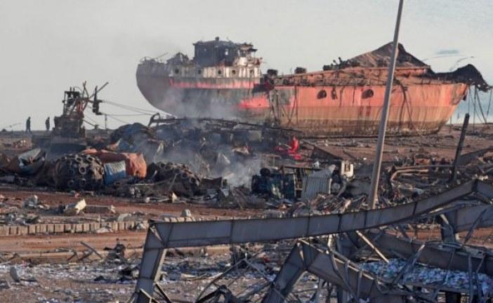 مجلة أميركية :  ترجع مسؤولية انفجار مرفأ بيروت الى نطام فاسد  انشئ منذ التسعينات.