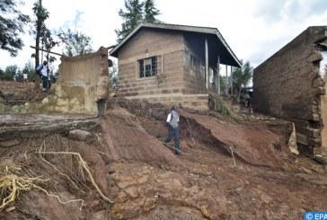 الأمطار الغزيرة تؤدي إلى إغراق بيوت وسلسلة من الانهيارات الطينية في المناطق الوسطى بكوريا الجنوبية
