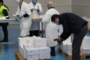 بدء توزيع اللقاح ضد كوفيد-19 على الجهات
