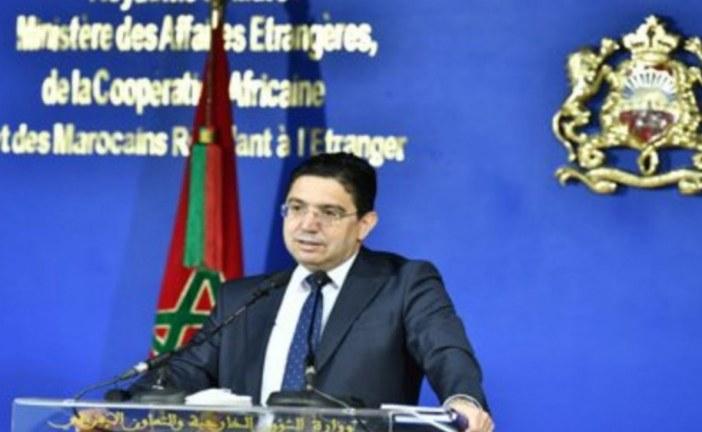 بوريطة.. المغربي يرحب بانتخاب السلطة التنفيذية المؤقتة لدولة ليبيا الشقيقة