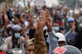 اعتقال زعيم للاحتجاجات المناهضة للجيش في ميانمار