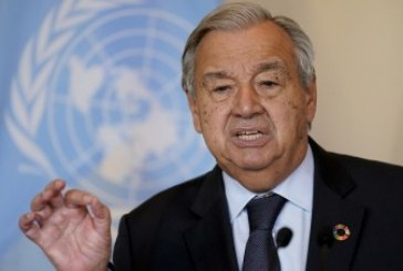 أنطونيو جوتيريش يدعو قادة العالم إلى جعل مؤتمر المناخ (كوب 26) نقطة تحول حقيقية