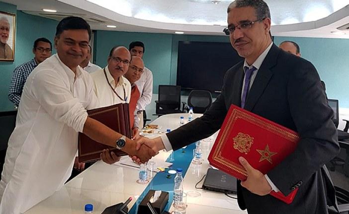 تعزيز سبل التعاون في قطاع الطاقة محور مباحثات مغربية-هندية بنيودلهي