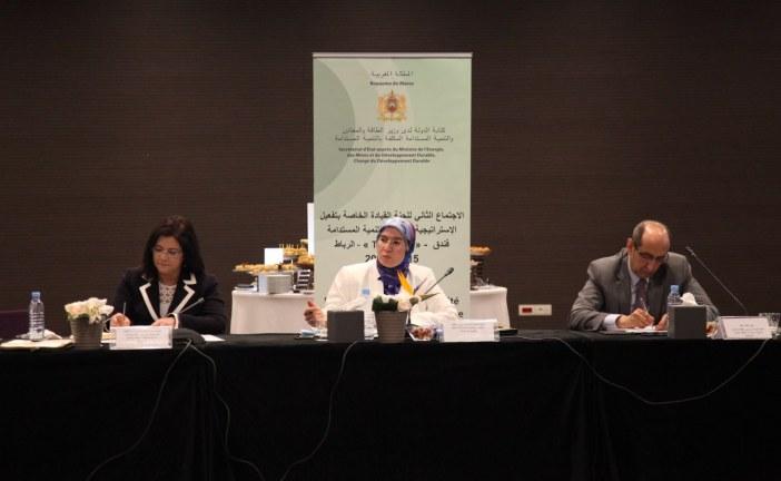 اجتماع لجنة القيادة لتنزيل مقتضيات الاستراتيجية الوطنية للتنمية المستدامة