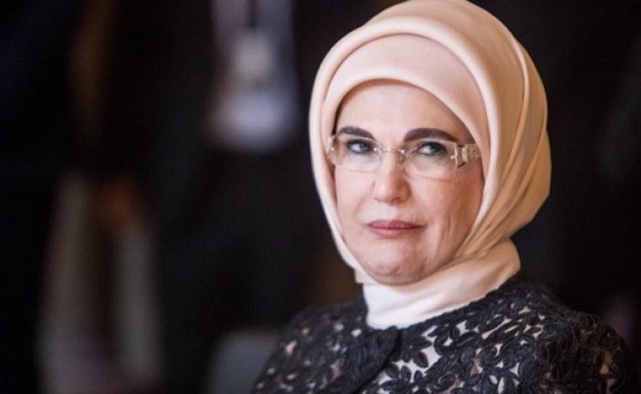 """الأمم المتحدة: أمينة أردوغان تعتزم تقديم مشروع """"صفر نفايات"""""""