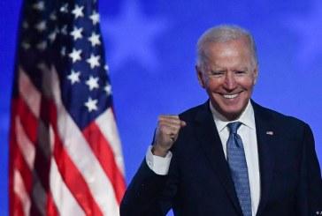 جو بايدن يفوز بسباق الرئاسة في الولايات المتحدة الأميركية.