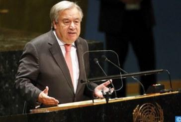 أنطونيو غوتيريش يدعو قادة العالم للتحرك بمناسبة القمة العالمية حول المناخ