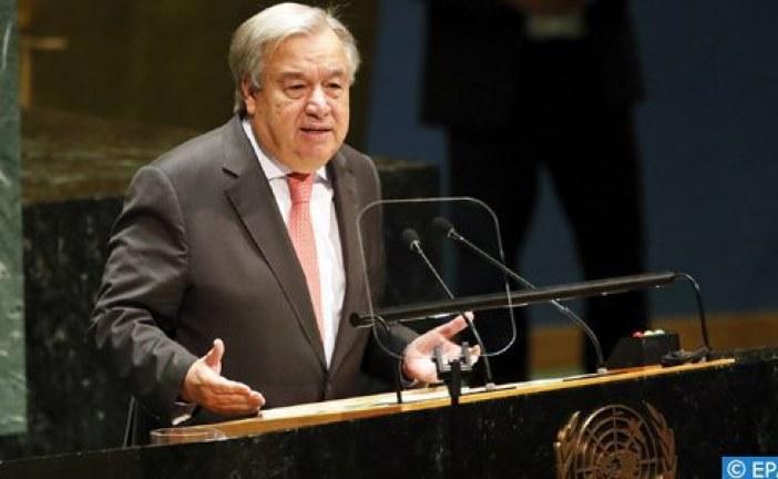 الأمين العام الأممي يعتزم مطالبة أعضاء مجموعة السبع مضاعفة التزاماتها  الشاملة  للتمويل العمومي من أجل المناخ