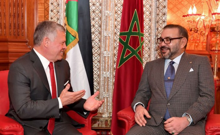 الملك محمد السادس يُهاتف ملك الأردن