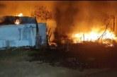 """طنجة..حريق يأتي على """"أكواخ"""" قرب سوق الدرادب"""